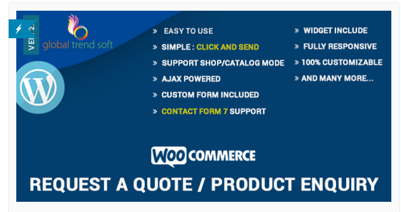 WooCommerce plugin orçamento WooCommerce – Quote Request or Inquiry