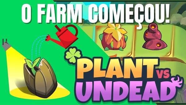 Plant vs Undead é um jogo NFT onde você cultiva plantas