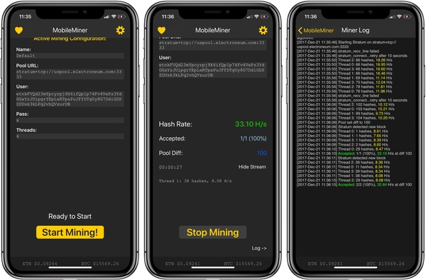 Como minerar Bitcoin pelo celular mobile miner