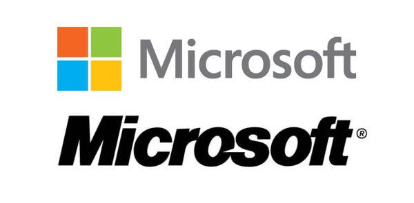 Microsoft logo redesign - logotipo grátis