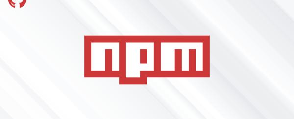 npm error install